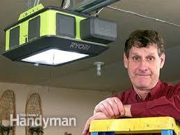 quietest garage door openerMeet the 2HP UltraQuiet Ryobi Garage Door Opener  Family Handyman