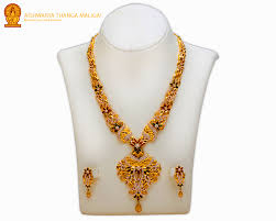 gold haram necklace