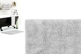 elegant gray bath rug reversible bath mat in light silver dark grey bath rugs
