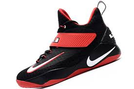 lebron shoes soldier 11. new nike lebron soldier 11 boots lbj11 men\u0027s high basketball shoes black / red lebron