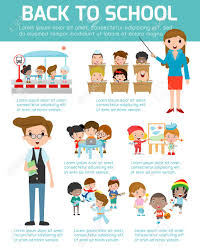 Creative Charts For School Back To School Infographic School Infographics Element Education