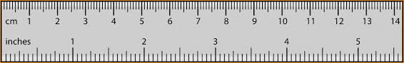 6 inch ruler actual size real scale ruler ideal vistalist co