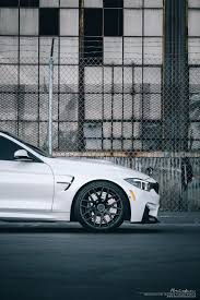 Coupe Series bmw m4 f82 : White BMW M4 (f82) | Brixton Forged Wheels