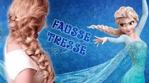 Tuto Coiffure La Elsa Reine Des Neiges Tresse Facile Pour