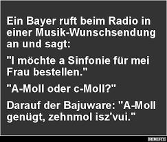 Ein Bayer Ruft Beim Radio In Einer Musik Wunschsendung Lustige