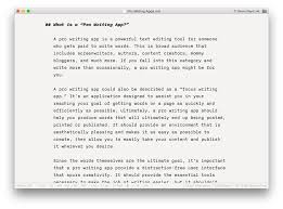 the best writing app for mac ipad and iphone the sweet setup ia writer pro
