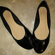 Nwot Simply Be Black Patent Dress Shoes
