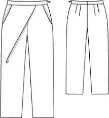 Wrap Pants Pattern Gorgeous Wrap Pants Plus Size 4848 48 Sewing Patterns BurdaStyle