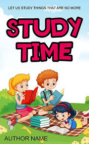 children book cover kids education story