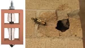 embedded fasteners in masonry
