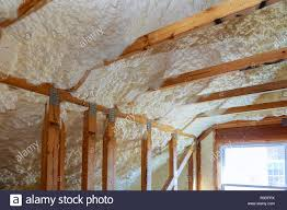High Quality Termal Insulation Installing At The Attic Insulation The House