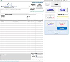 Formatos De Factura Sistema De Facturacion E Inventario En Excel Formato Carta