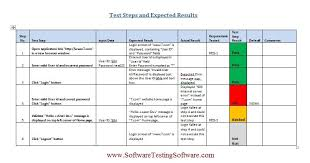test plan template excel test case template