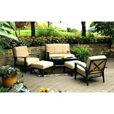 walmart sectional patio furniture lake island conversation set within replacement cushions for outdoor plans 12