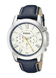 buy fossil end of season chronograph white dial men s watch fossil end of season chronograph white dial men s watch fs4925