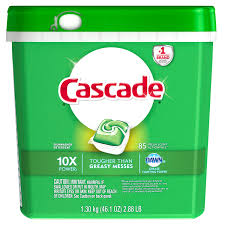 Dishwasher Brands Cascade Actionpacs Fresh Scent Dishwasher Detergent 85 Count