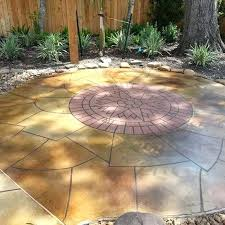cement patio cost of stamped concrete s cement patio cost uk