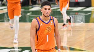 NBA Finals: Refs inexplicably miss call that would have fouled out Suns  star Devin Booker in Game 4 - CBSSports.com