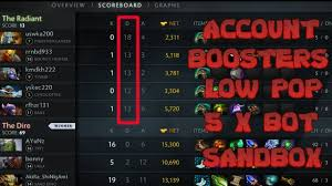 low priority account boosters dota 2 youtube