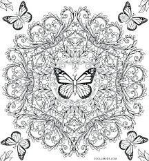 Printable Butterfly Coloring Page Butterflies Coloring Pages