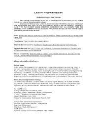 Resume Recommendation Letter Sample Cover Letter Nanny Position