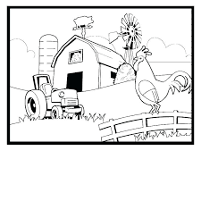 Free Coloring Pages Farm Animals Farm Animal Coloring Pages Barnyard