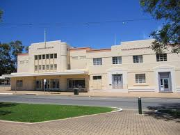 art deco buildings south australia. the bonney theatre, barmera, south australia. constructed in 1938. regular ballroom dancing art deco buildings australia r