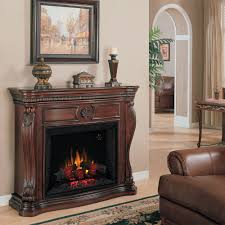 classic flame lexington electric fireplace insert mantel in empire cherry