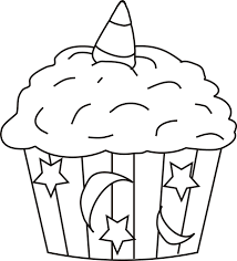 Small Picture Coloring Page Cupcake Miakenasnet