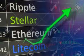 Stellar Stock Chart Ethereum And Stellar Coin Trading Chart For Monitoring Eth Values