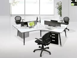 stylish office desk. High Quality Wooden Stylish Office Desk For 3 Person F