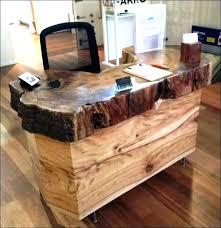 rustic wood office desk. Rustic Wood Office Desk Furniture Full Size Of Living Modern .