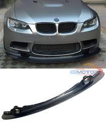 BMW Convertible bmw m3 gt4 : GT4 STYLE CARBON FIBER FRONT LIP SPOILER FOR BMW 3 SERIES E90 E92 ...