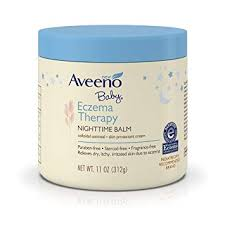 Amazon.com: Aveeno Baby Eczema Therapy Nighttime Balm, with natural ...
