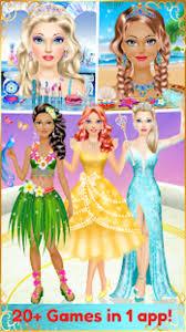 fashion dress up makeup games