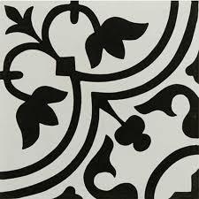 12 X 12 Decorative Tiles Tileryhydraulicblackporcelaindecorativetile60x60 N 4
