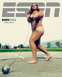 Amanda Bingson Interview Hammer Thrower Poses Nude for ESPN the.