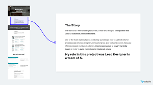 Ux User Story Template The Ultimate Ux Portfolio Template To Get You Hired Uxfol