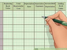 Fixed Asset Depreciation Schedule How To Calculate Depreciation On Fixed Assets With Calculator