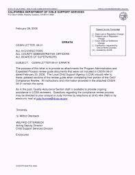 child support agreement letter example child support agreement letter