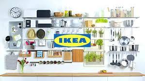 ikea kitchen storage stainless steel shelf