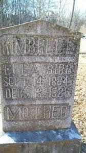 Eula Bird Abernathy Kimbrell (1884-1926) - Find A Grave Memorial