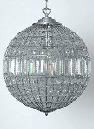 round ball crystal ceiling light chandelier large pendant lighting extraordinary hanging modern raindrop fixture alluring 0