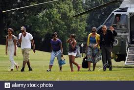 L R Malia Obama Avery Robinson High Resolution Stock Photography and Images  - Alamy