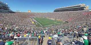 Notre Dame Stadium Section 122 Rateyourseats Com