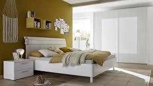 Schlafzimmer Joyz 4 Jugendzimmer Weiß Lack Holzoptik Grau
