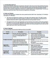 help desk service level agreement template service level agreement template and points to understand