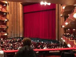 Seating Chart For The Metropolitan Opera Nyc 36