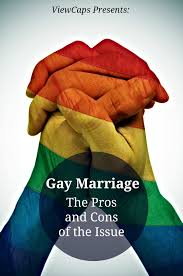 Pros cons gay marrige