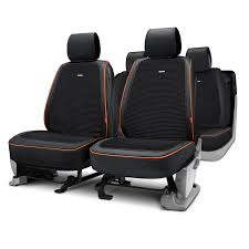 riu taffeta series black seat covers